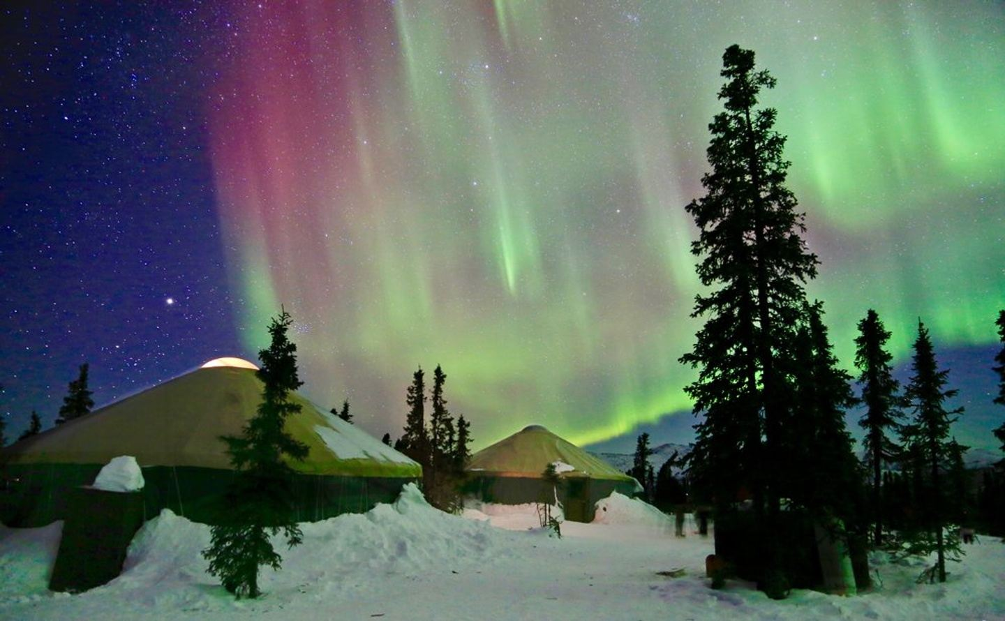 Chena Hot Springs and the Northern Lights