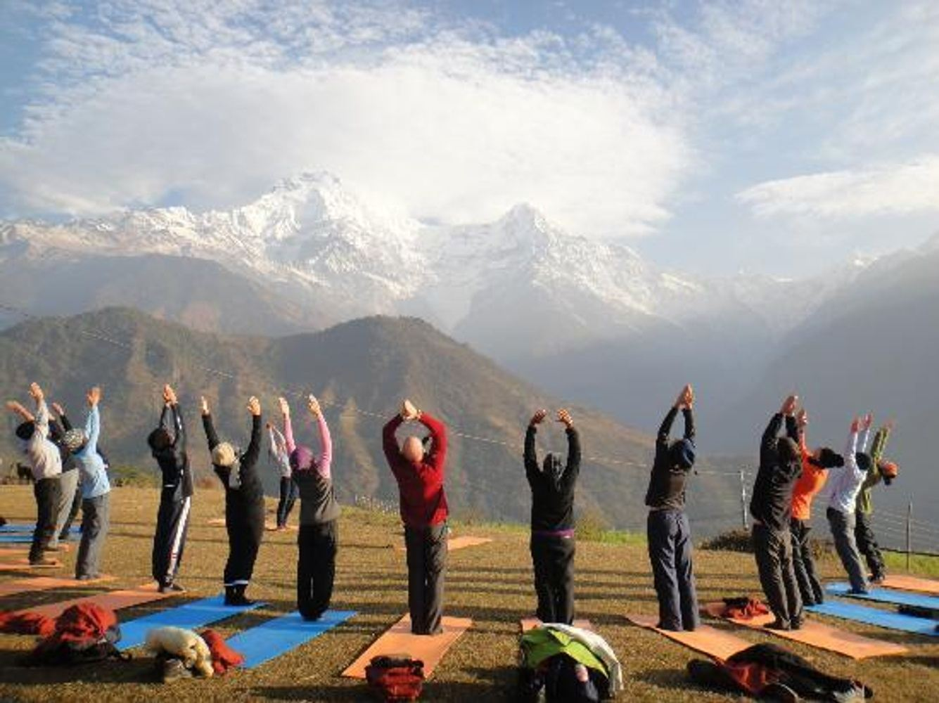 10 Days Nepal Yoga Retreat + Colon Cleansing + Paragliding ( Mar 2019)