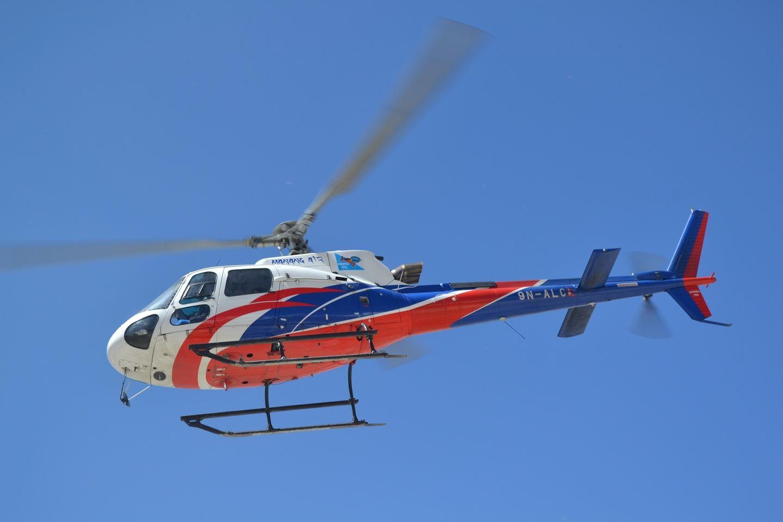 KTM-LKL Sharing Helicopter