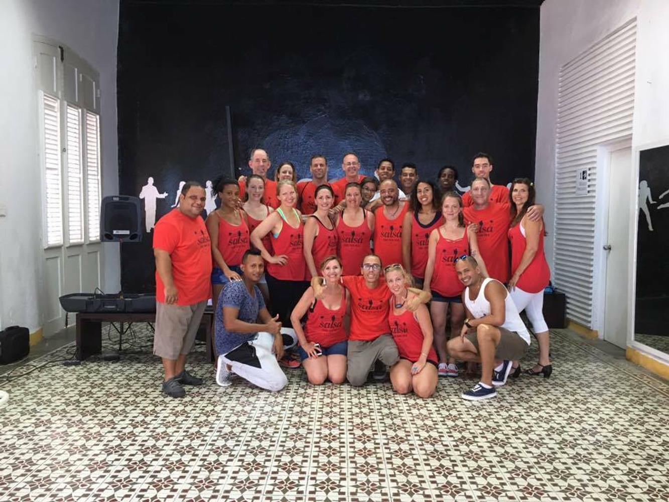Dance in Santiago de Cuba