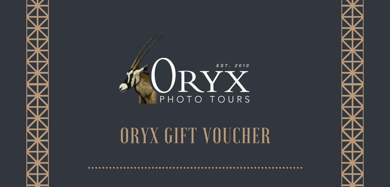 ORYX Gift Voucher
