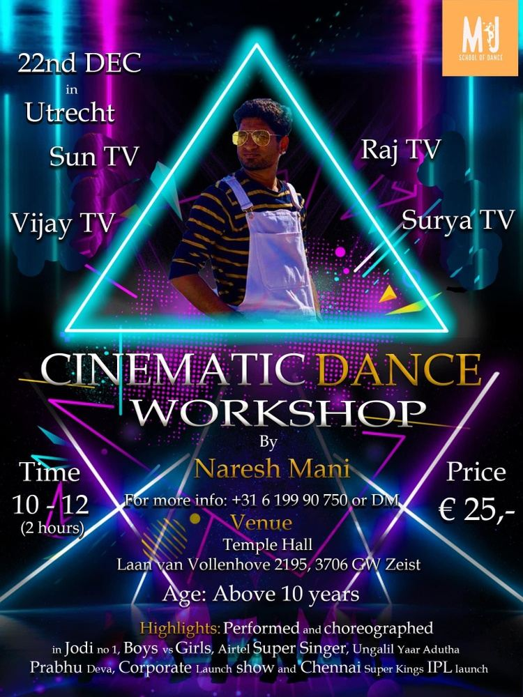 Cinematic Dance Workshop