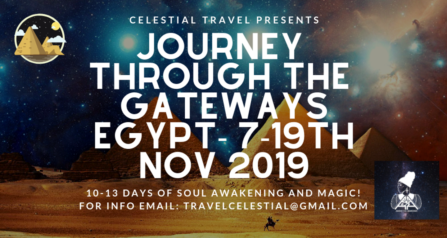 Journey Through The StarGates - Magic of Egypt Soul Journey