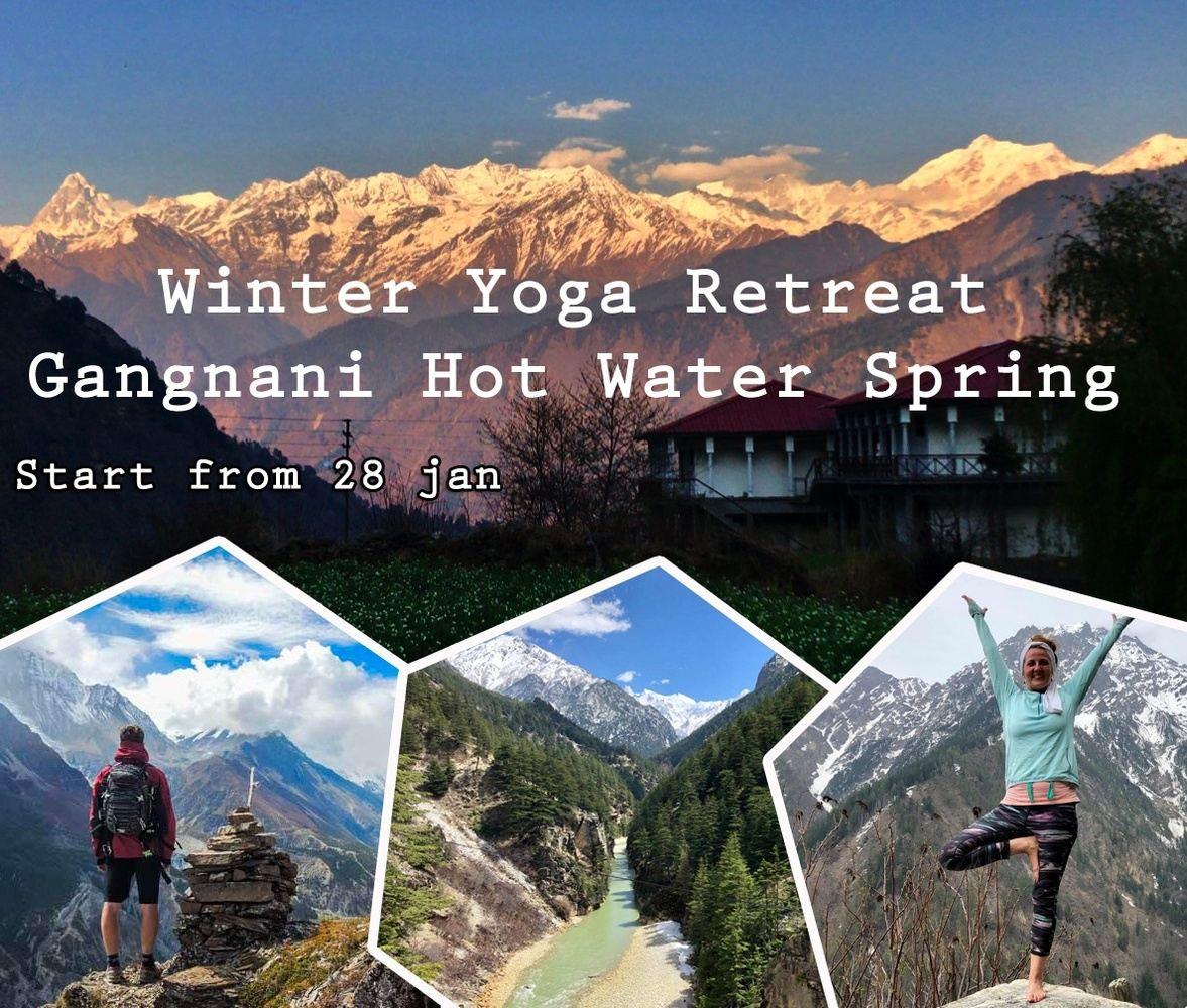 Himalayan yoga retreat in Gangotri Mountains