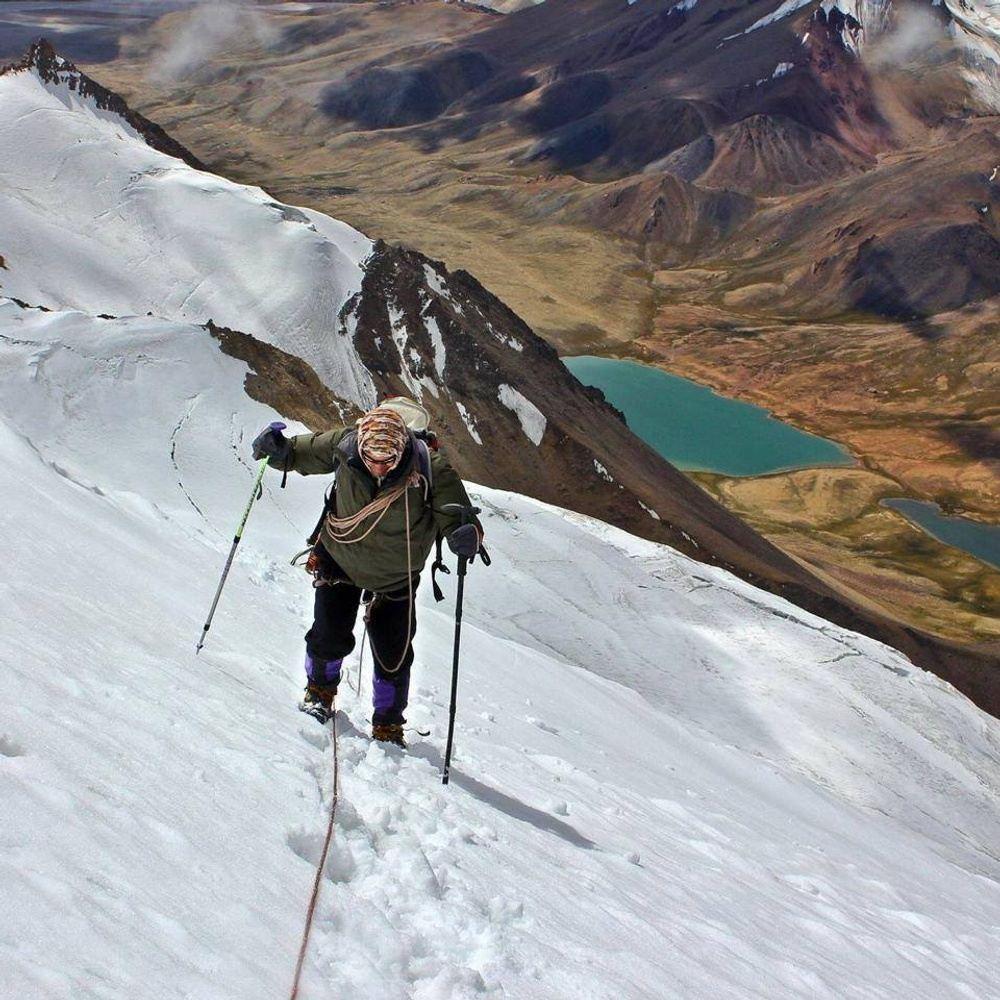 Trekking Peak Manglik Sar 6050m Pakistan Asia