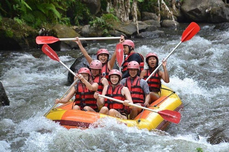Ubud Bali White Water Rafting and Sightseeing Tour