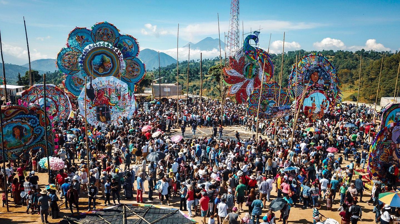 Sumpango's Giant Kite Festival November 2019