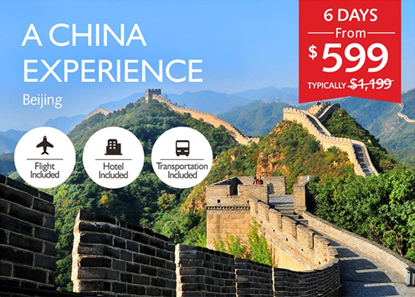 A China Experience (TravelZoo)