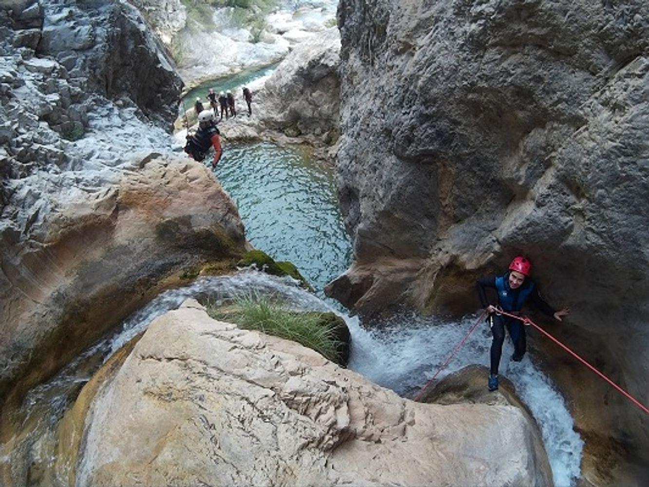 Canyoning in Granada: Río Verde