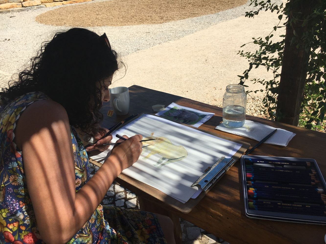 Painting Lessons in the Algarve