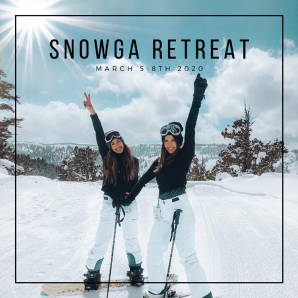 Tahoe Snowga Retreat Spring 2020