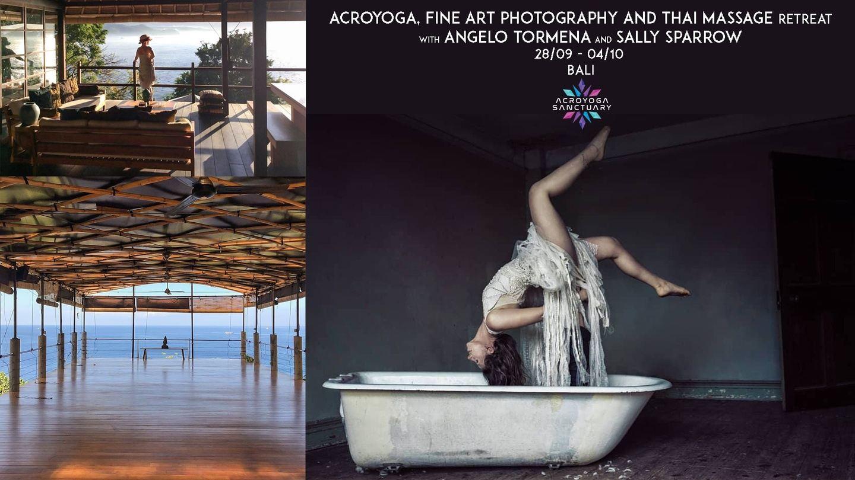 Acroyoga, Fine Art Photography and Thai Massage Retreat - Bali