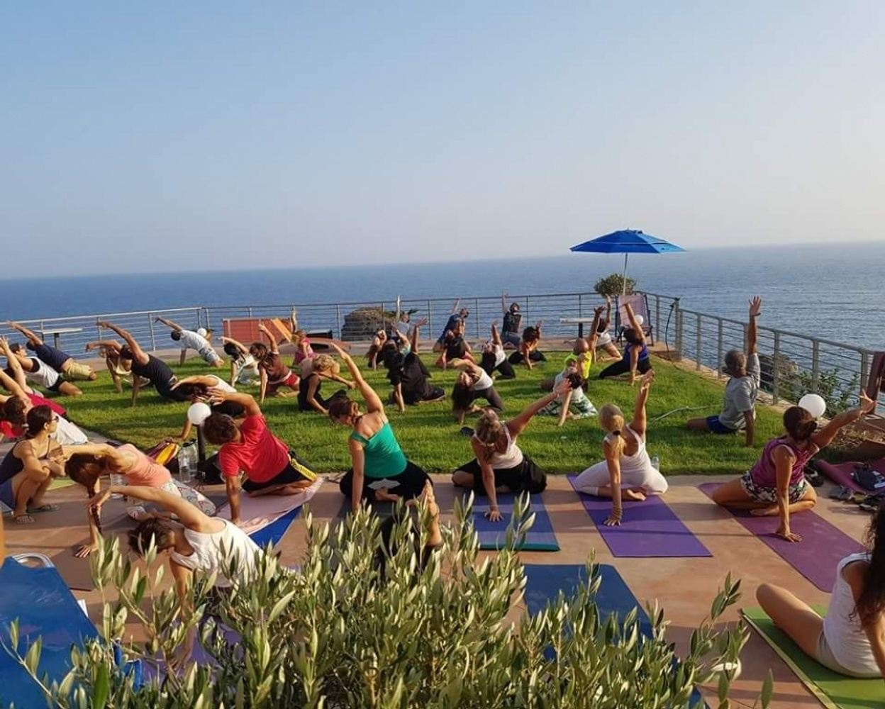 Easter Yoga & Pilates Retreat in Lentas Crete April 2019