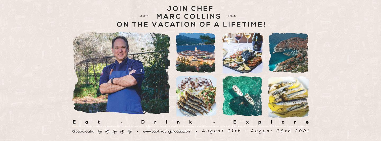 Chef Marc Collins Flavors of Croatia Tour