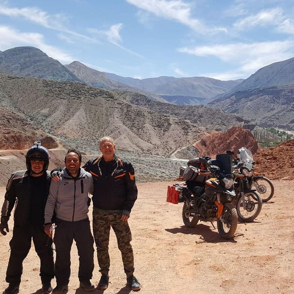 Viaje en Moto Norte Argentino