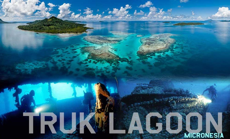 Truk Lagoon - War wrecks of WWII