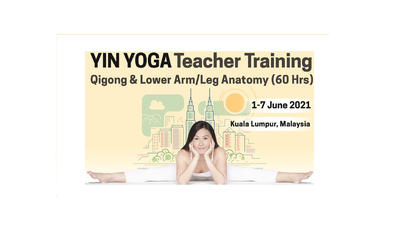 Yin Yoga Teacher Training: Qigong & Lower Arm/Leg Anatomy with Jo Phee