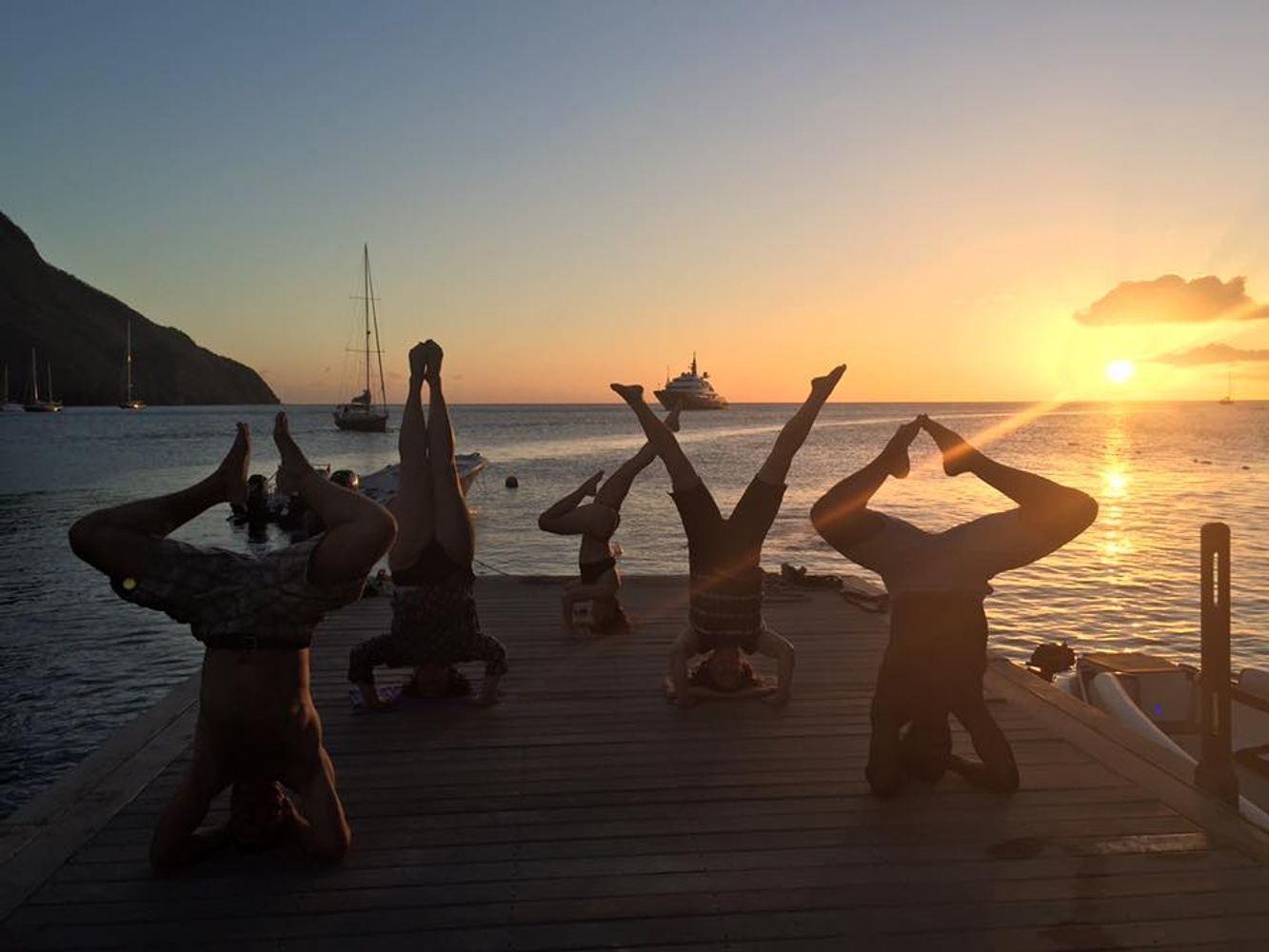 St. Lucia Yoga Getaway with Charlie The Yogi