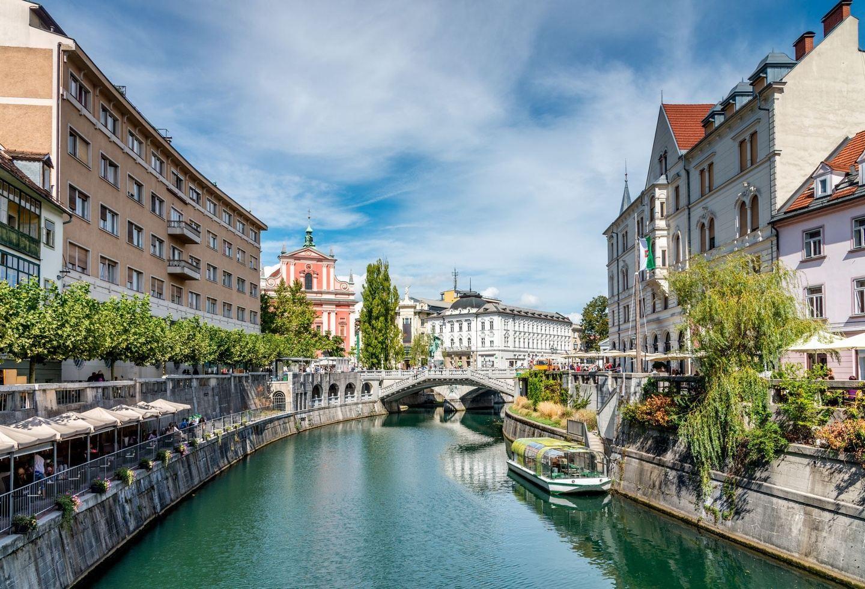 Ljubljana and Trieste