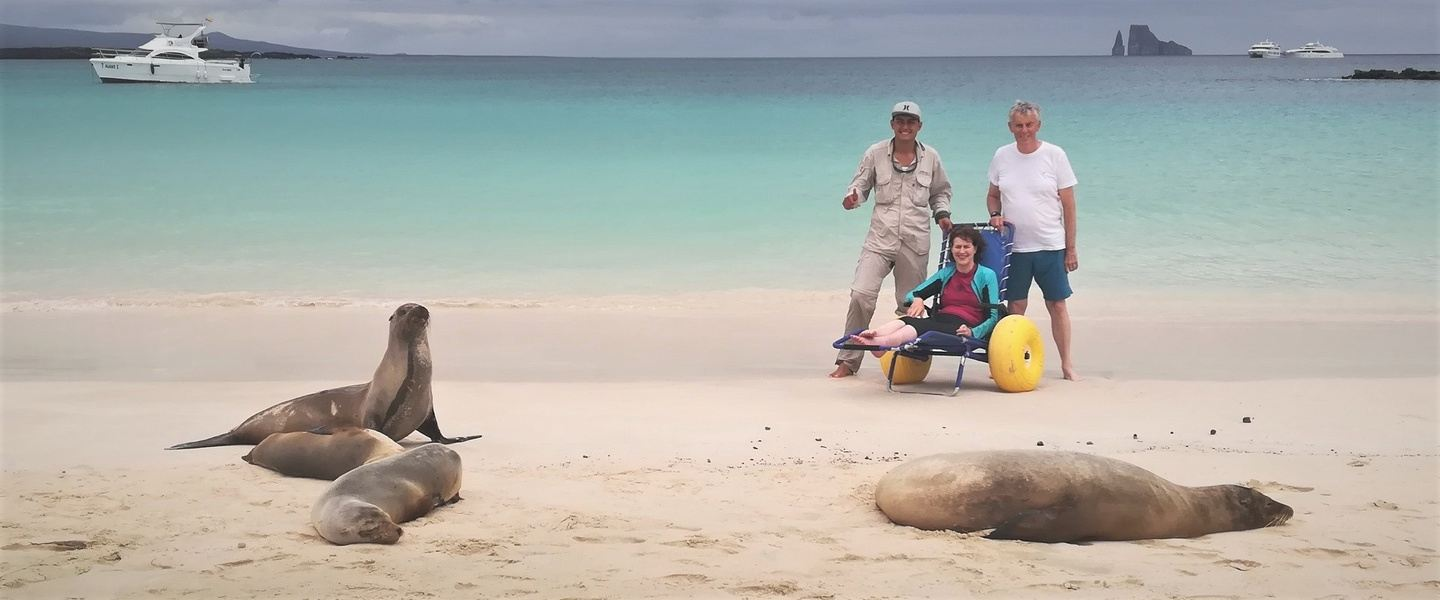 Galapagos slow mobility accessible tours