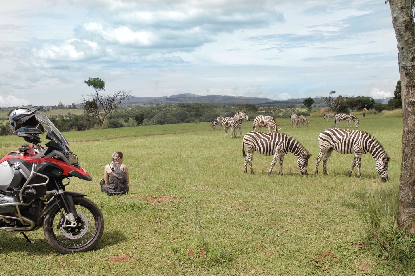 Journey through the warm heart of Africa