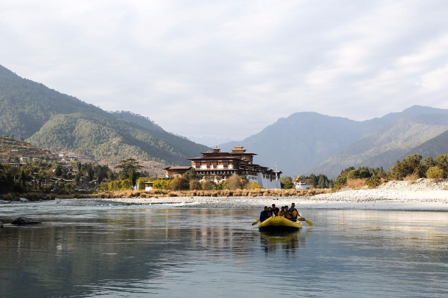Discover Bhutan with your SMILES