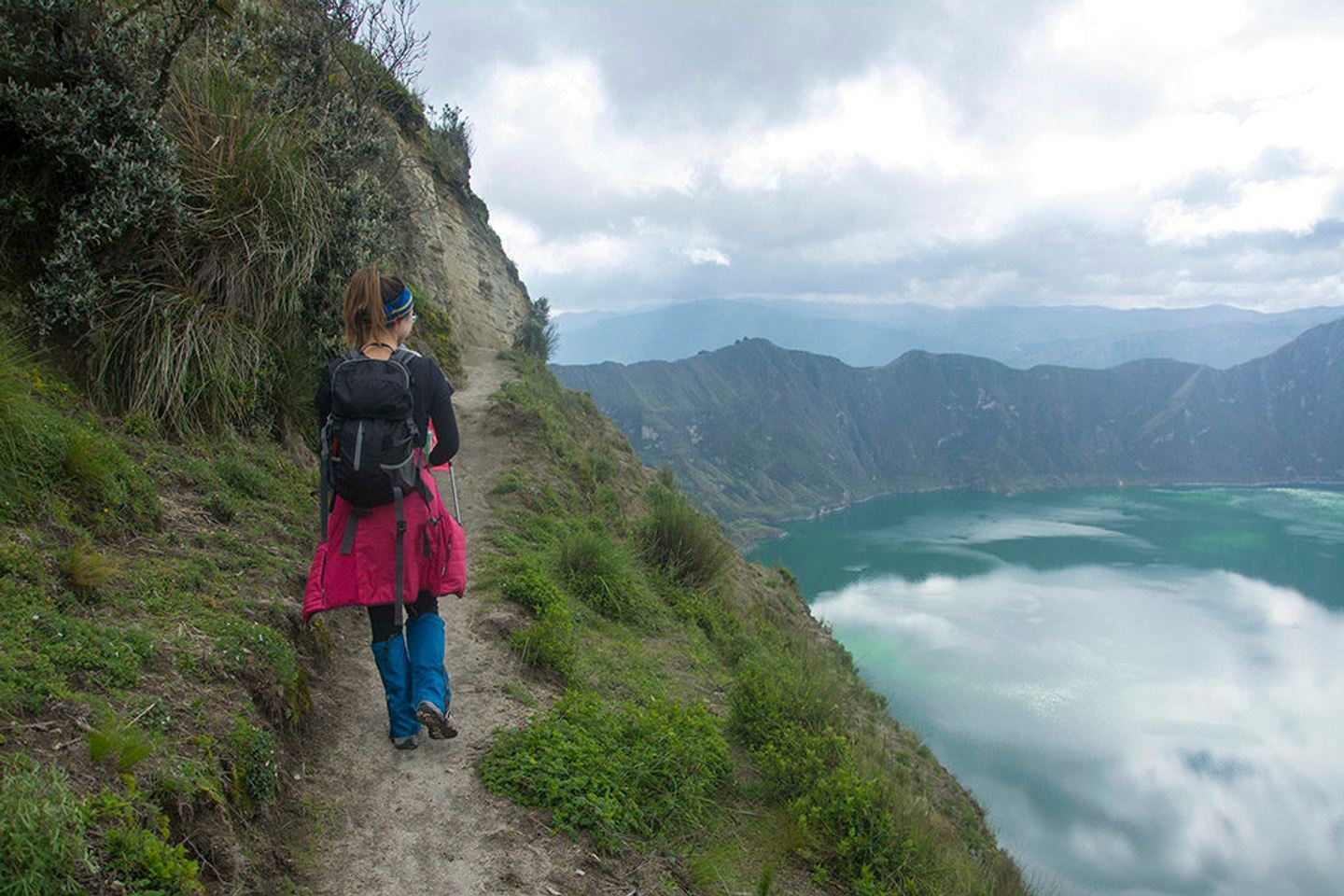 2D/1N ANDEAN HIGHLIGHTS. COTOPAXI VOLCANO & QUILOTOA CRATER LAKE - 2