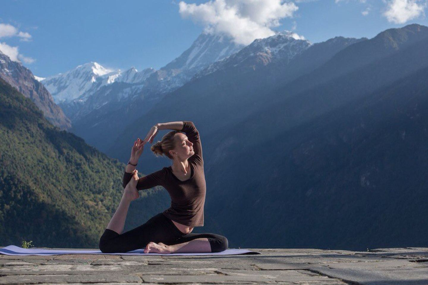 """Yoga-tour in the Altai Mountain, Siberia, Russia: """"""""Step to yourself"""""""" (copy)"""