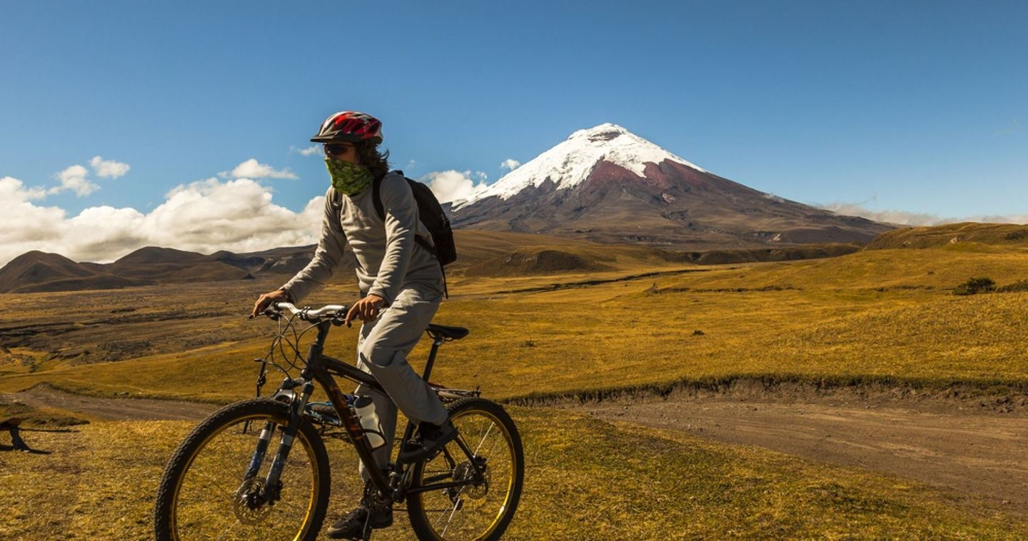 Booking Page for Debby Phelps - Cotopaxi bike tour