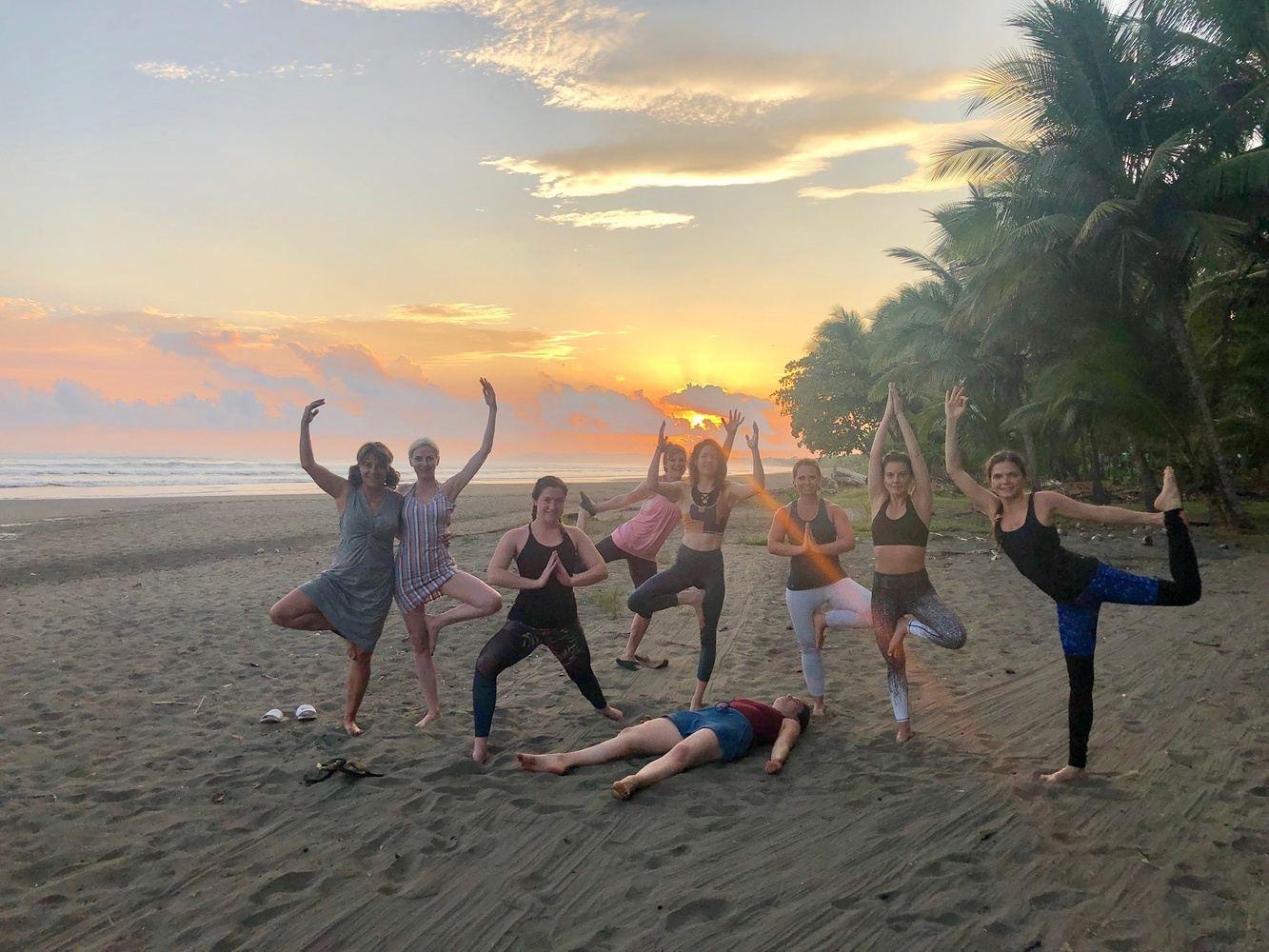 Pura Vida Yoga Escape with Alla & Anielka
