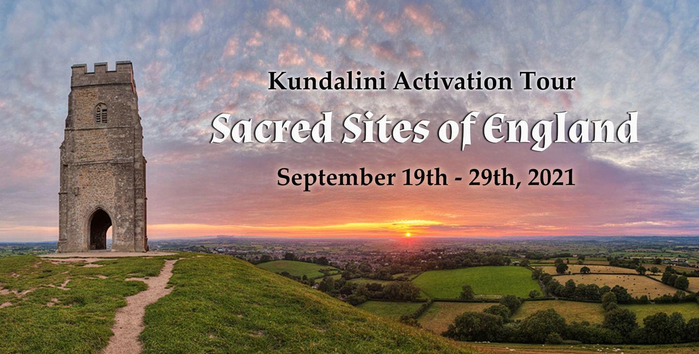 Sacred Sites of England, Kundalini Activation Tour