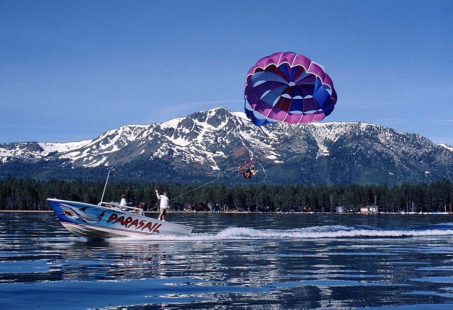 Tahoe Parasail and hiking trip with Ling (copy)