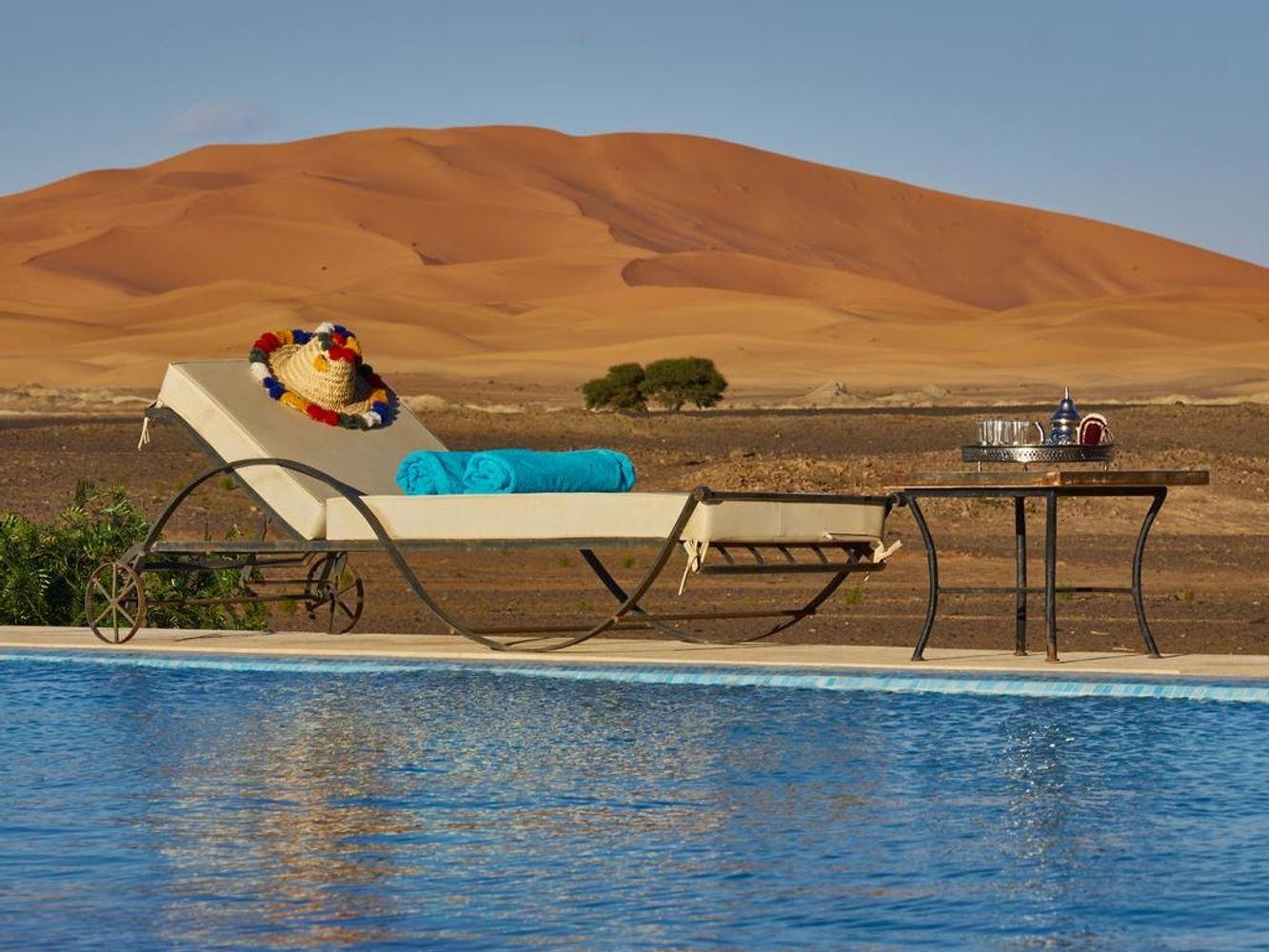 Amazing desert  dunes