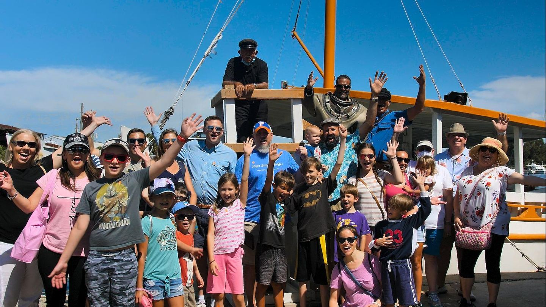 Tarpon Springs Family Adventure w Sponge Boat Benefiting Sal. Army