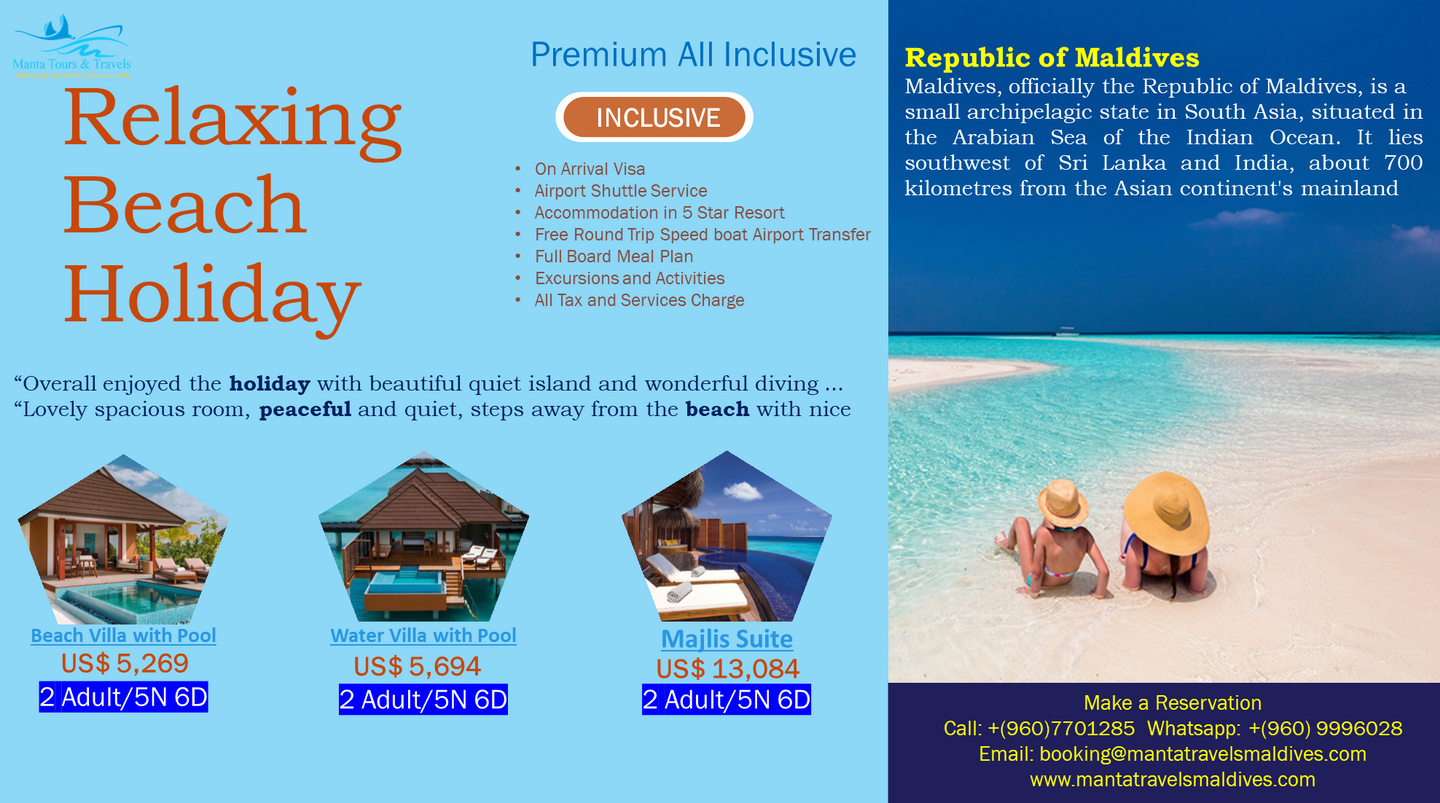 All Inclusive Beach Holiday