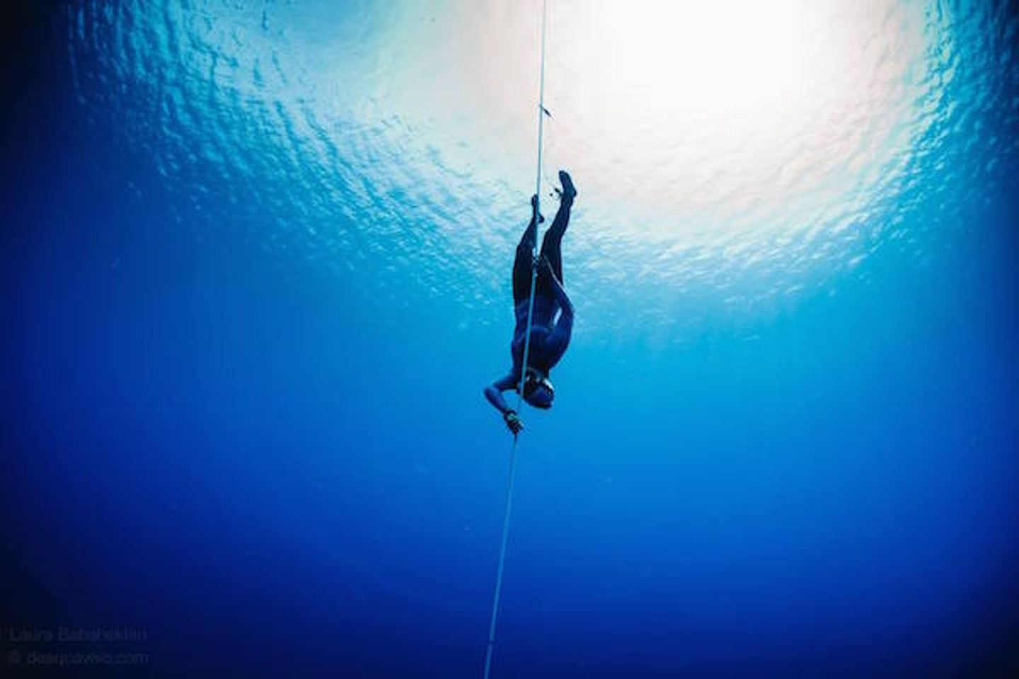 Freediving in San Andres