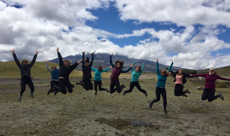Ladies Adventure Retreat Cotopaxi Ecuador