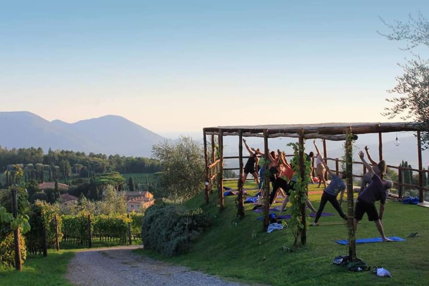 Live Vibrantly! A Yoga Adventure in Tuscany