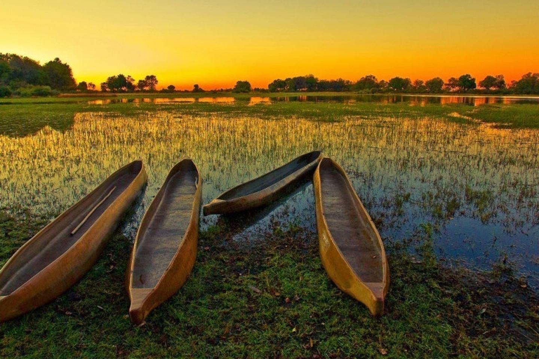 Okavango deltal camping adventure