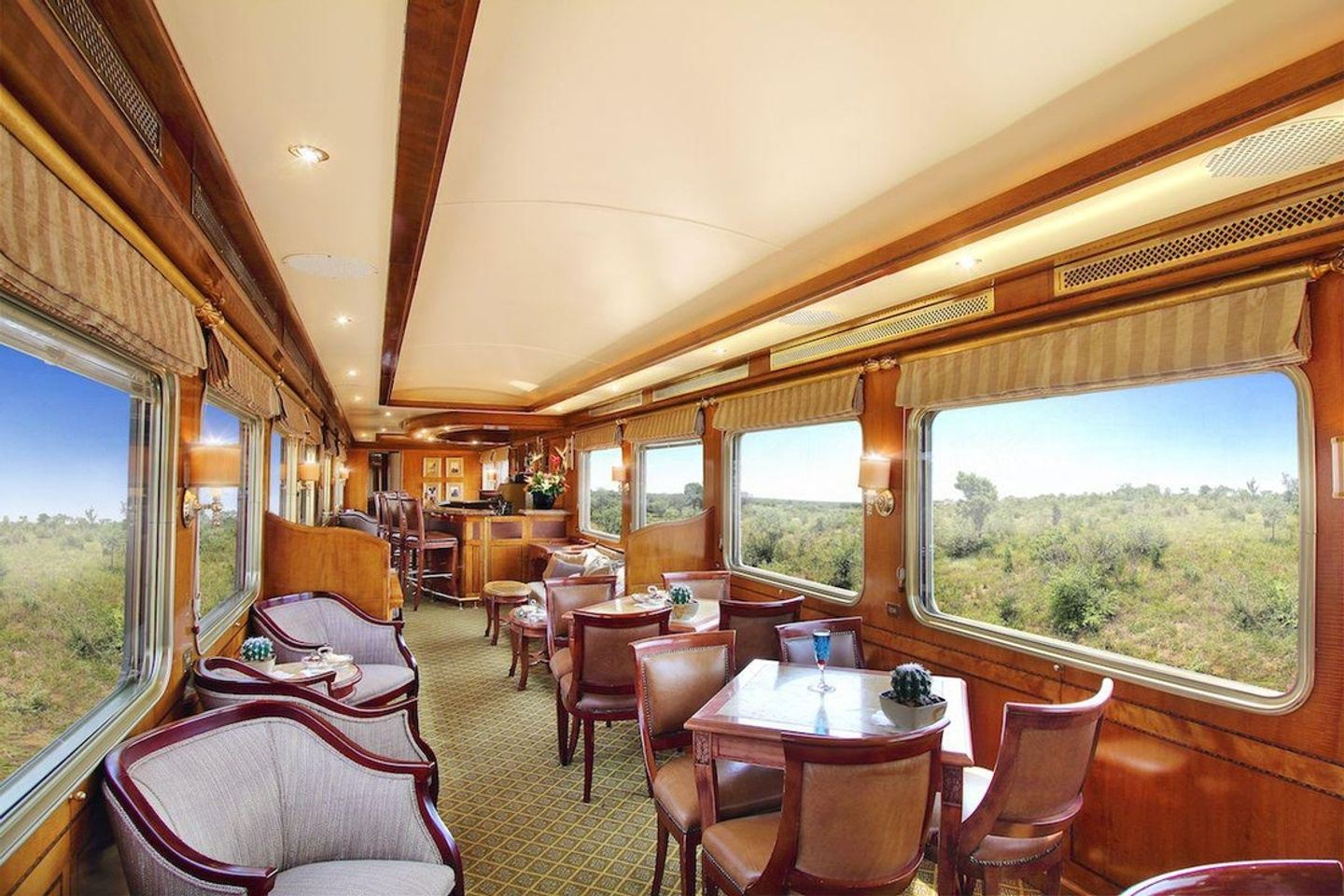 Luxurious Blue Train - South Arica