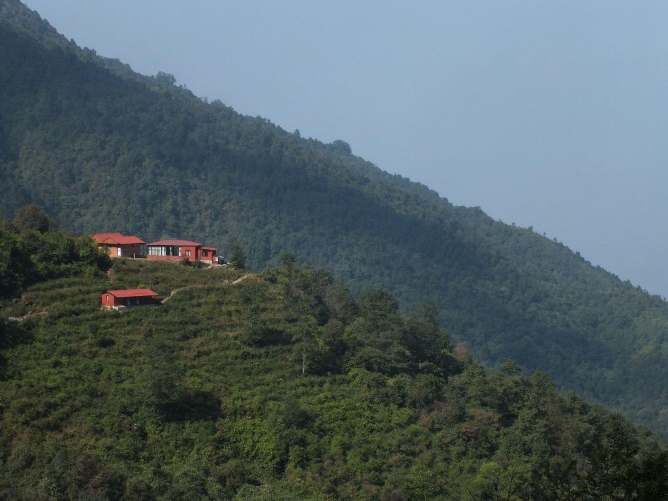 Range over Kathmandu Hills