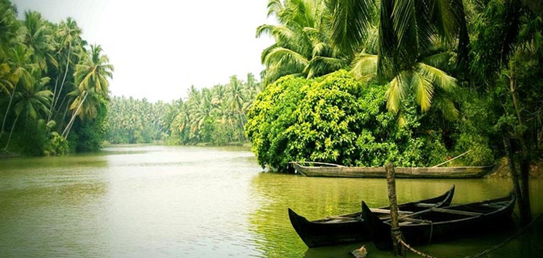 Monsoon yoga retreat in Kerala