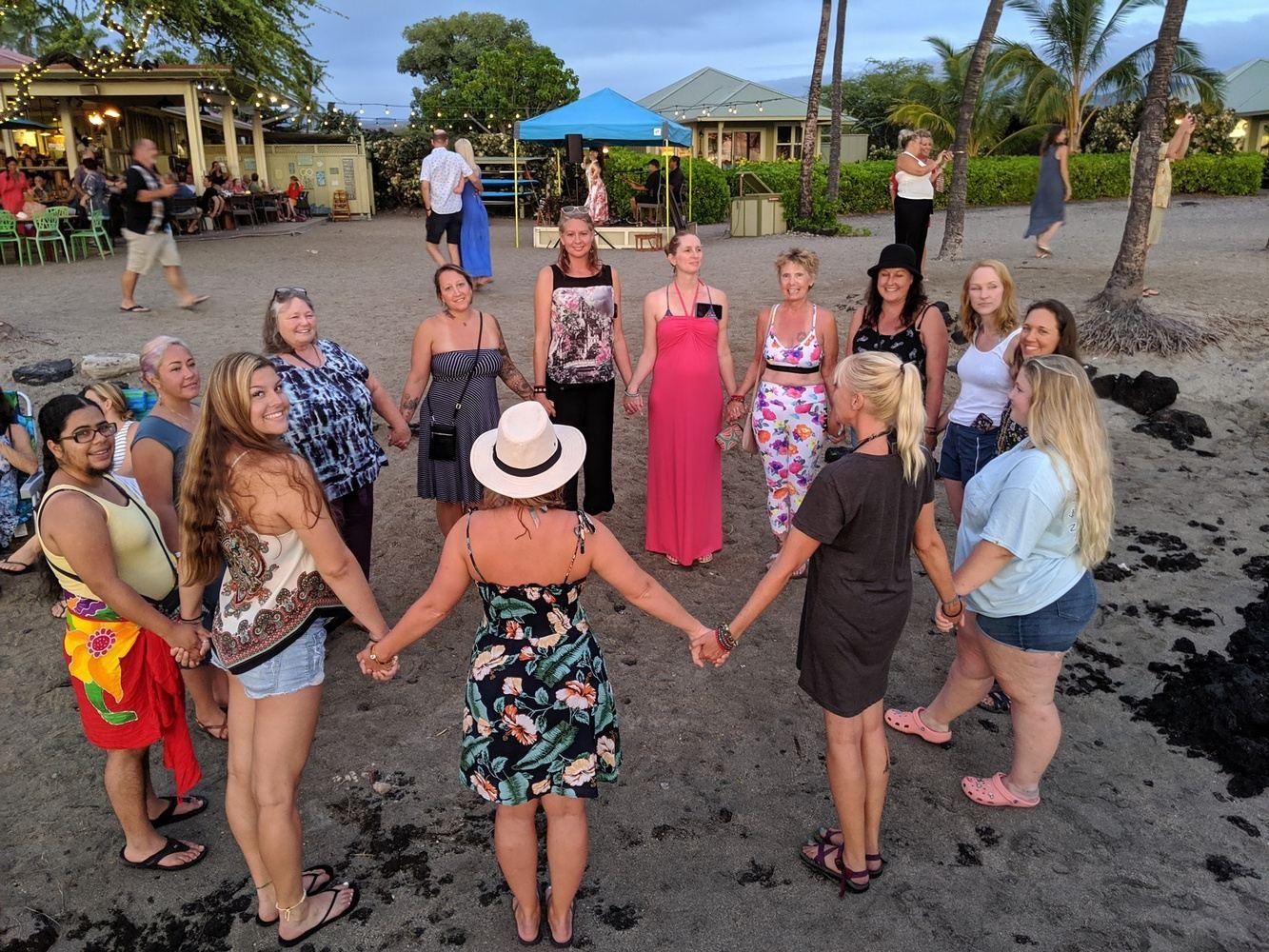 Hawaii Inner Goddess Mermaid Adventure Retreat Summer Solstice