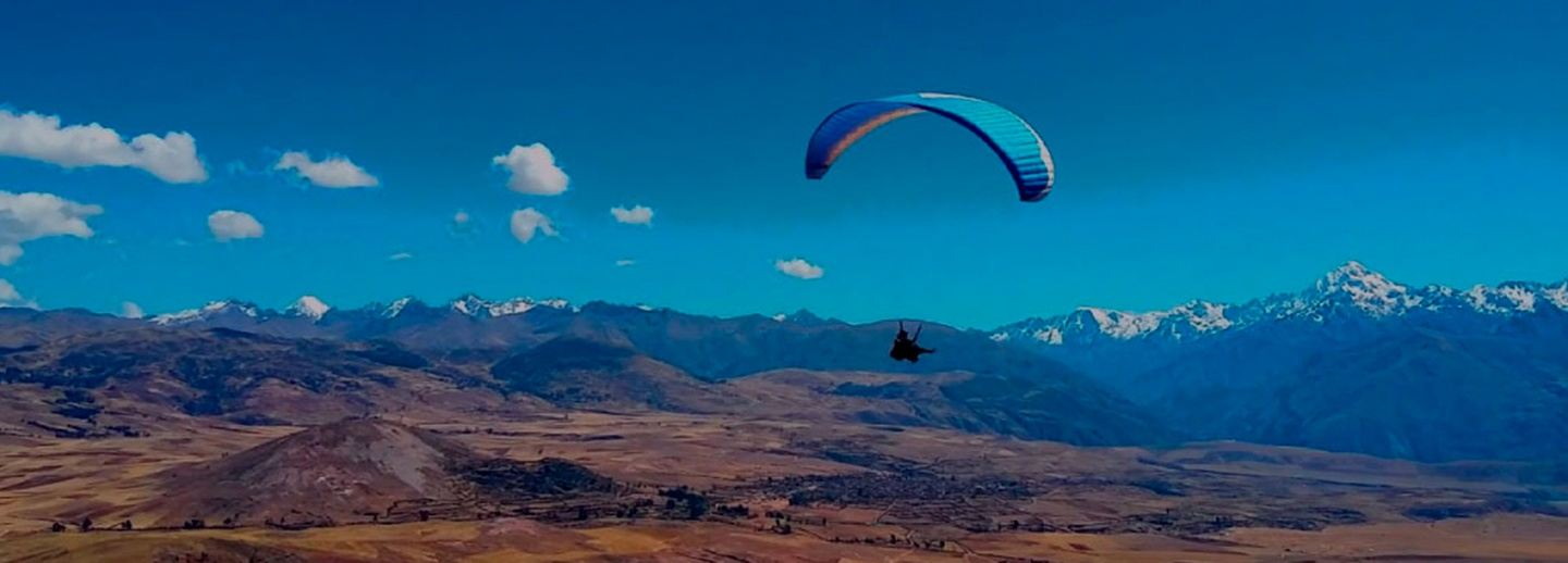 PARAGLIDING OVER THE SACRED VALLEY Half Day