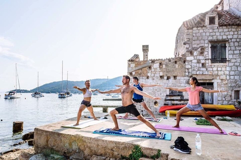 Yoga Sailing Croatia Holiday