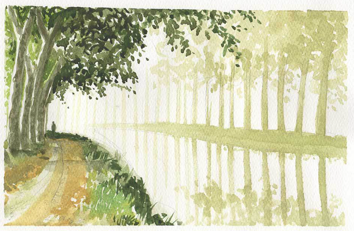 South of France Watercolor with Simon Roberts: June 2019 II