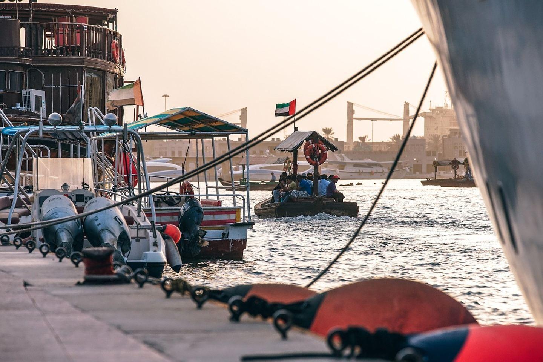 Dubai - The Old fashioned way!