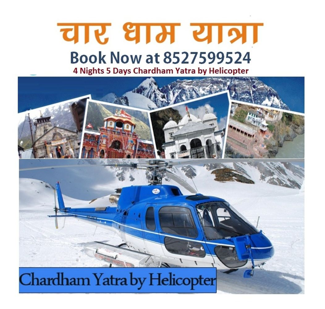 Chardham Yatra By Helicopter by Tourbite