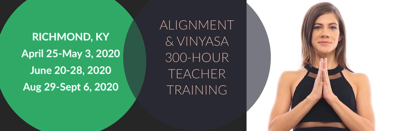 300-Hour Alignment & Vinyasa Teacher Training - Kentucky