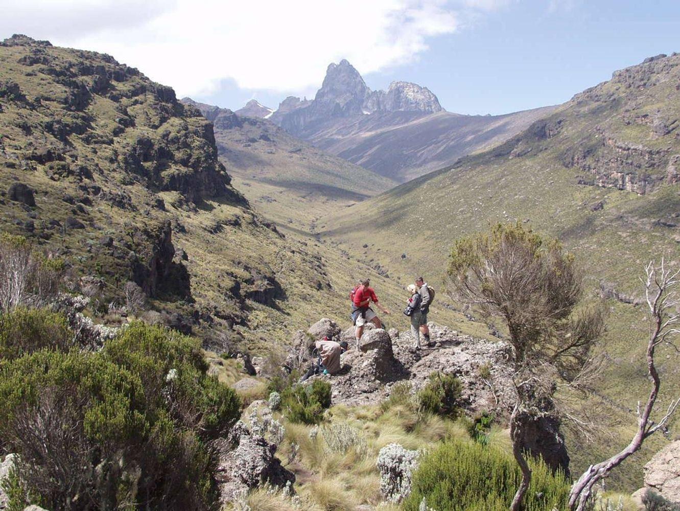 10 Days Mount Kenya Climbing Naromoru Chogoria Route